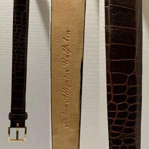 Calvin Klein Alligator Belt